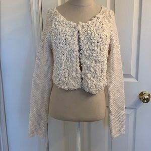 Anthropologie Cropped Cardigan